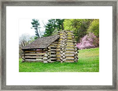 Unfinished Shelter Framed Print