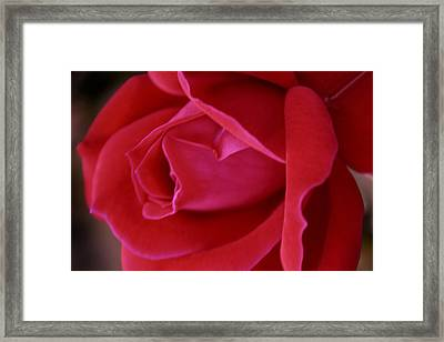 Unfolding Glory Framed Print