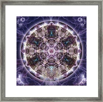 Unfoldment Framed Print