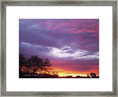 Framed Print featuring the photograph Unforgettable Majestic Beauty by Verana Stark