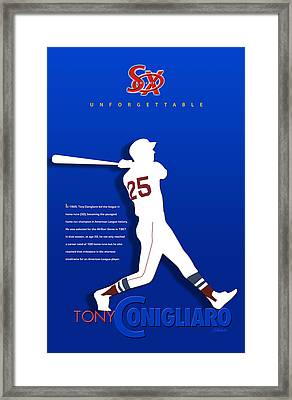 Unforgettable Framed Print by Ron Regalado