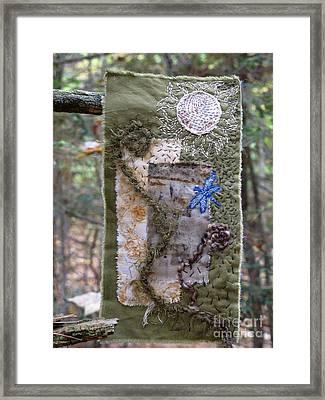 Unfurling Framed Print by Linda Marcille