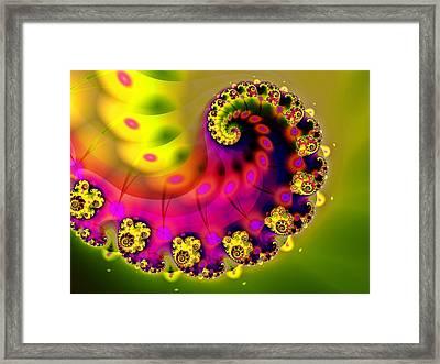 Unfurling Framed Print by Sharon Lisa Clarke