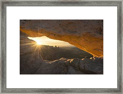 Unguarded  Framed Print