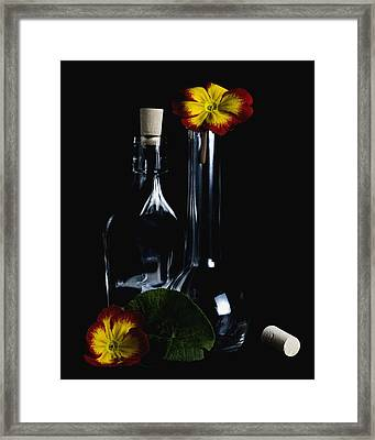 Unhappy Family Framed Print by Marcio Faustino