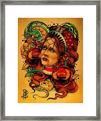 Unhappy Valentine Framed Print