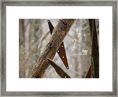 Framed Print featuring the photograph Unhinged by Nick Kirby