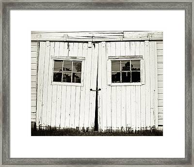 Unhinged Framed Print by Will Gunadi