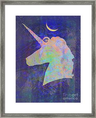 Unicorn Dreams Framed Print by Robert Ball