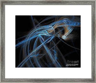 Unicorn Of Another Color Framed Print by Leona Arsenault