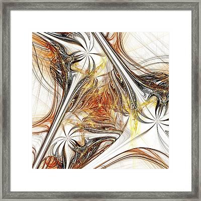 Unicorn Path Framed Print