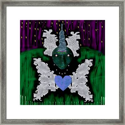 Unicorn Framed Print by Pepita Selles