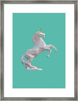 Unicorn Framed Print