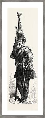 Uniform Of The Polish Cavalry In The Service Of The Sultan Framed Print by English School