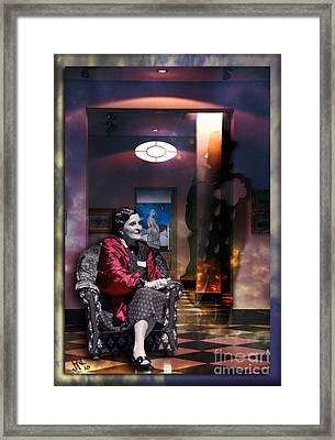 Uninvited Guest Framed Print by Rosa Cobos