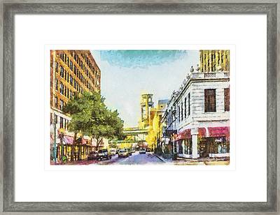 Union And 3rd Framed Print