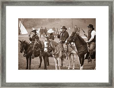 Union Board Meeting Framed Print