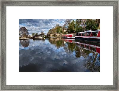 Union Canal Framed Print