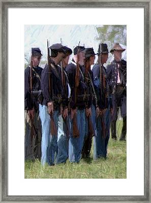 Union Formation - Richmond Ky Framed Print