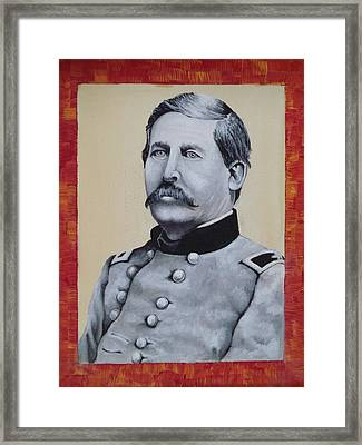Union General Buford Framed Print by Martin Schmidt