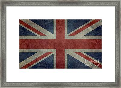 Union Jack 3 By 5 Version Framed Print by Bruce Stanfield