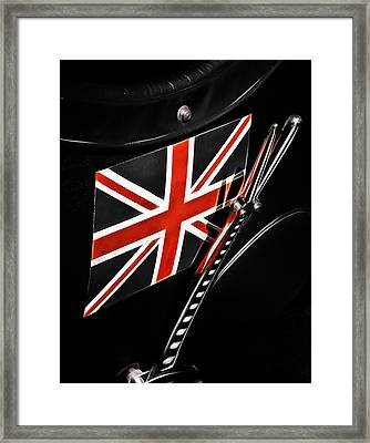 Union Jack Framed Print by Phil 'motography' Clark