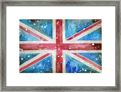 Union Jack Framed Print