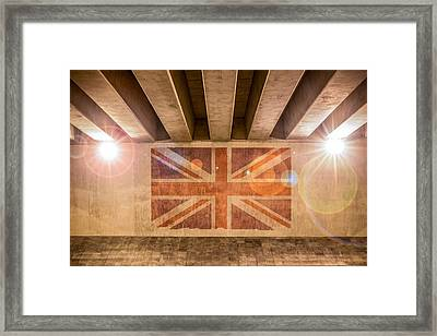 Union Jack Framed Print by Semmick Photo