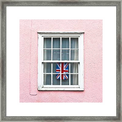 Union Jack Framed Print by Tom Gowanlock