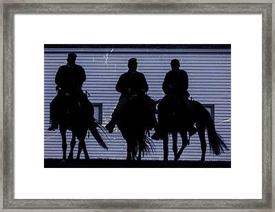 Union Night Riders Framed Print