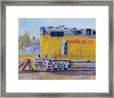 Union Pacific #604 Framed Print
