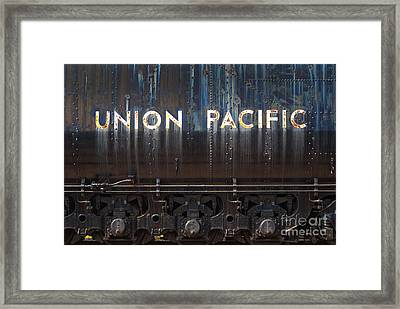Union Pacific - Big Boy Tender Framed Print