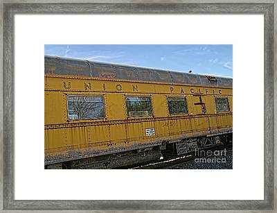 Union Pacific Framed Print by Peggy Hughes