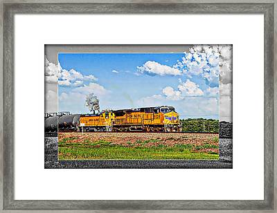 Union Pacific Railroad 2 Framed Print