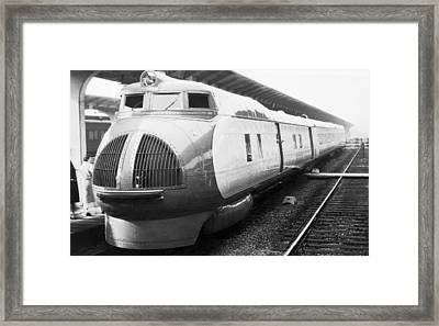 Union Pacific's New Train Framed Print