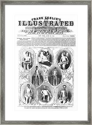 Union Soldiers Released  June 1864 Framed Print by Daniel Hagerman