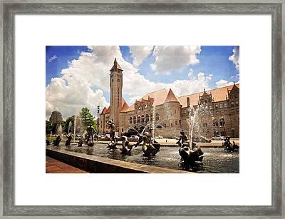 Union Station 1 Framed Print by Marty Koch