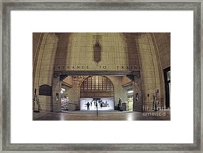 Union Station 2008 Framed Print