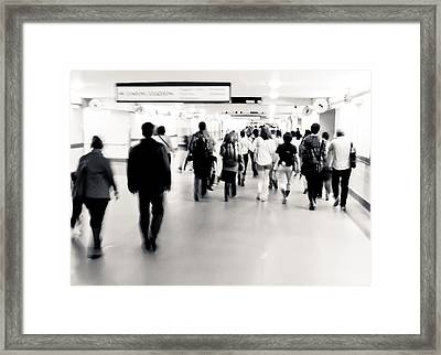 Union Station Framed Print by Andrew Raby