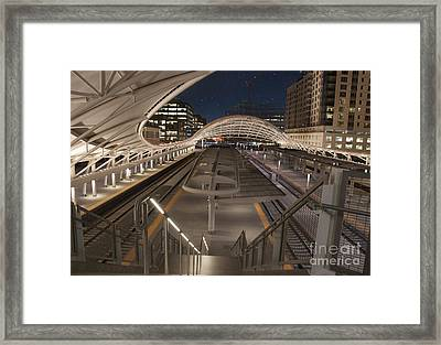 Union Station At Night  Framed Print by Juli Scalzi