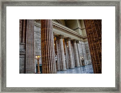 Union Station Chicago Framed Print
