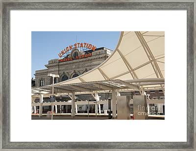Union Station Denver Colorado Framed Print by Juli Scalzi