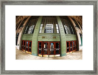 Union Station Exterior Framed Print by John Rizzuto