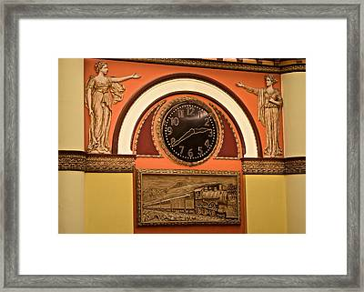 Union Station Hotel Framed Print