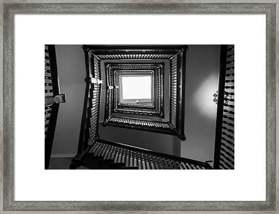 Union Station Hotel Stairway Framed Print