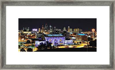 Union Station In Purple Framed Print