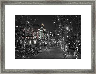 Union Station In The Winter Framed Print by Juli Scalzi