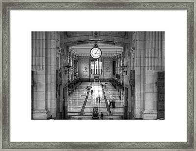 Union Station Kansas City Framed Print