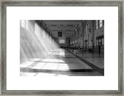 Union Station - Kansas City Framed Print