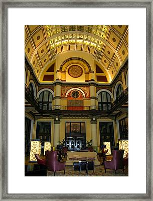 Union Station Lobby-large Size Framed Print
